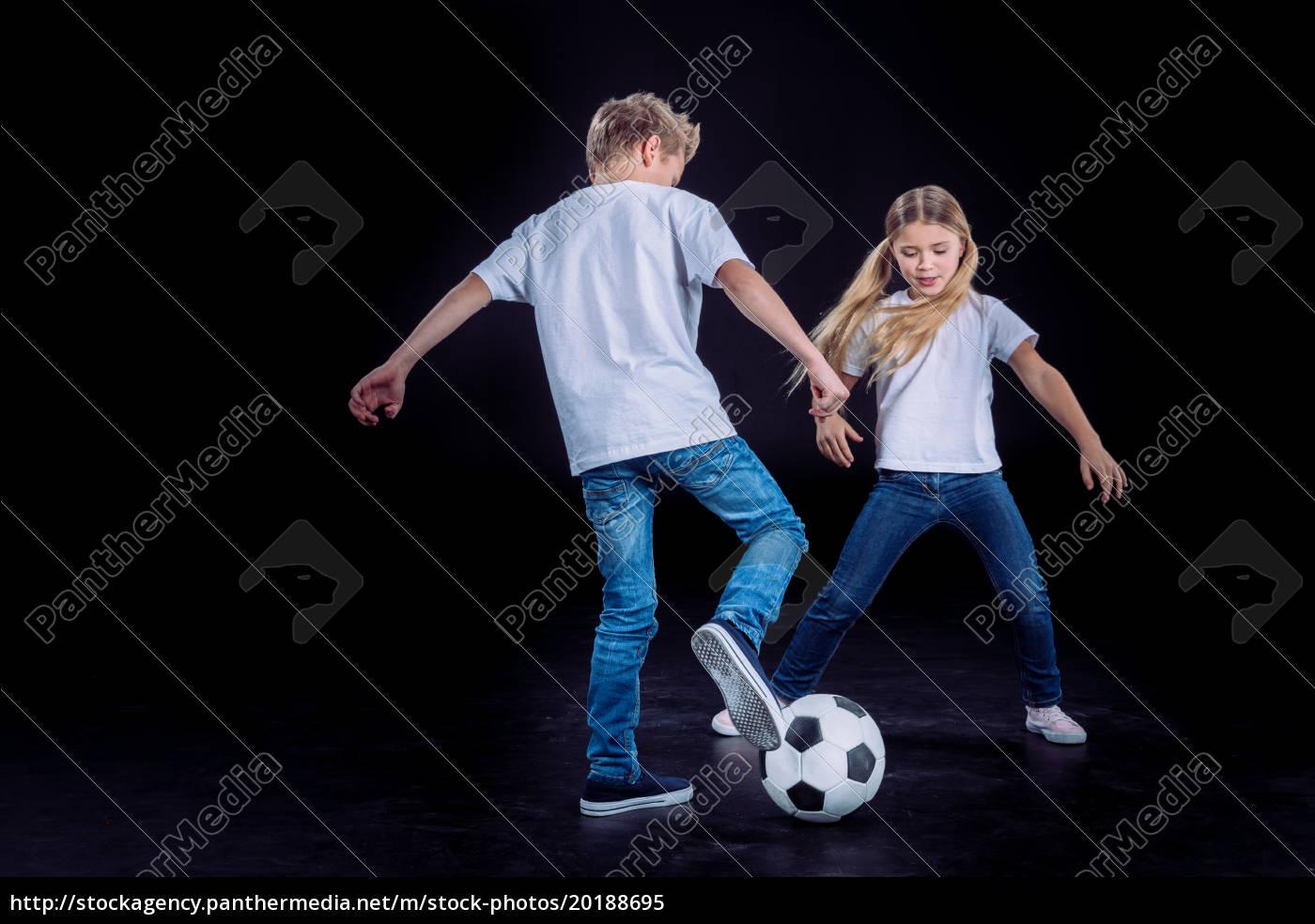 Spiel Spielt Bruder Schwester Bruder Und