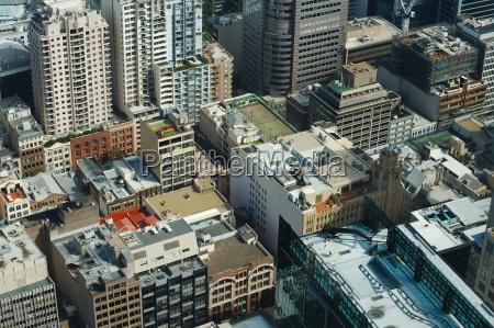 city buildings detail