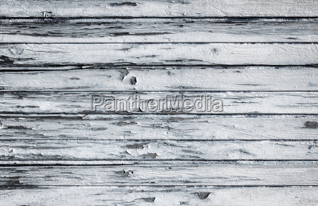 old wooden white painted surface