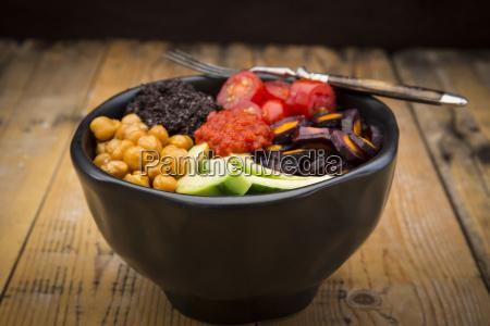 vitamine lebensstil frische gemuese gabel essen