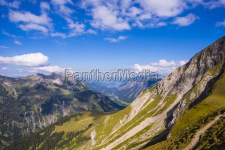 fahrt reisen wolke alpen bayern deutschland