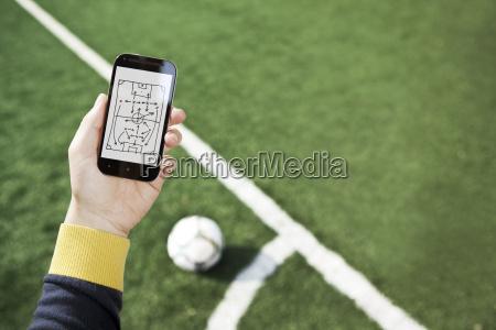 strategie telefon telephon handy mobiltelefon sport