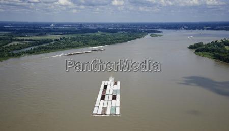 usa tennessee aerial photograph of tug