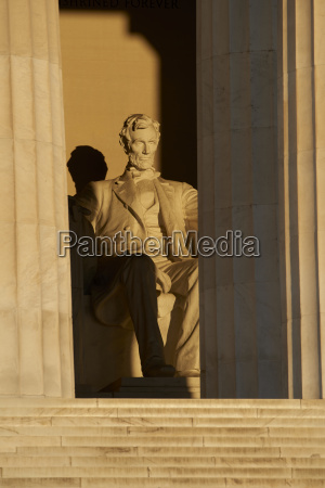 usa washington state lincoln memorial in