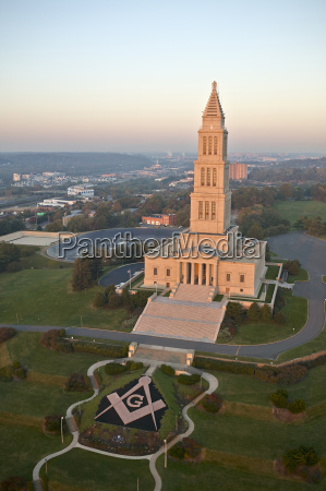 usa virginia aerial photograph of the