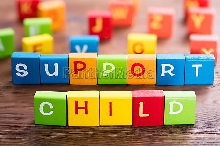child support konzept
