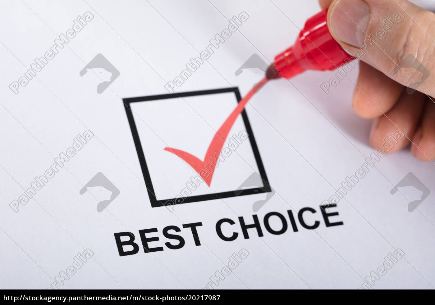 person, ticking, best, choice, in, check - 20217987