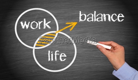 work life balance business concept