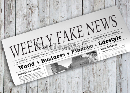 weekly fake news zeitung