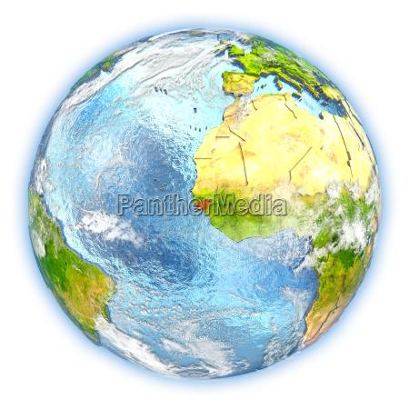 freisteller afrika illustration abgeschieden trabant atmosphaere
