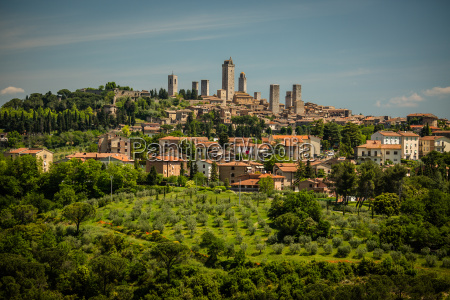 in the very heart of tuscany