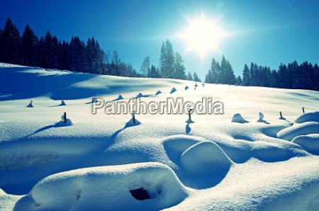 winter snow mountains