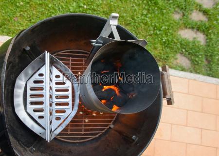 zubereitung von grillplatz