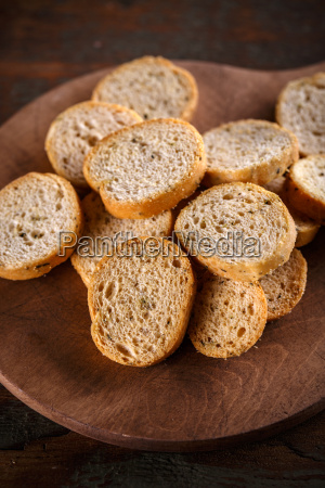 pieces of rusk