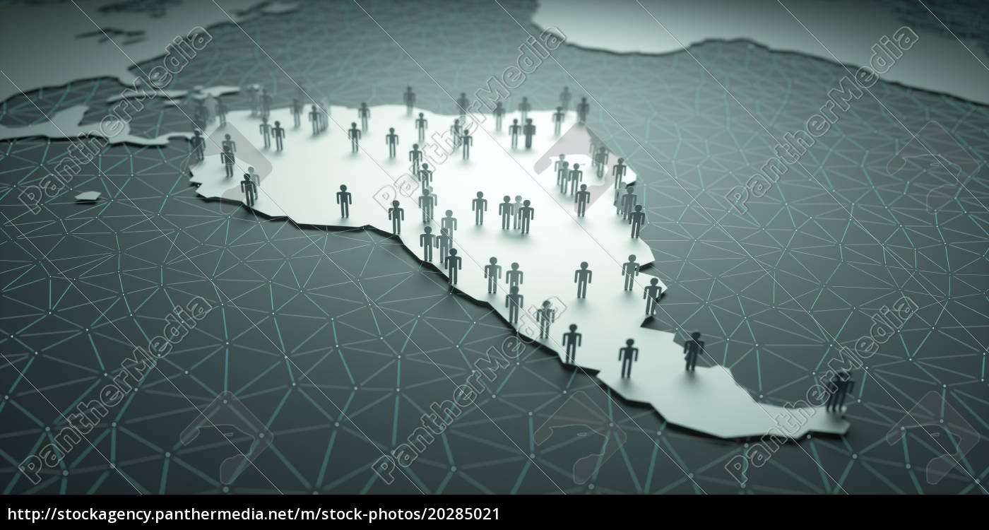 südamerika, bevölkerung - 20285021