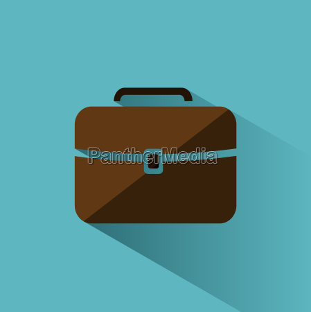 white briefcase icon