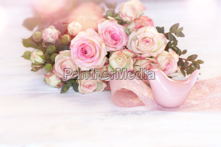 tender pink roses for mothers day