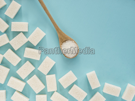 background of white sugar with copy