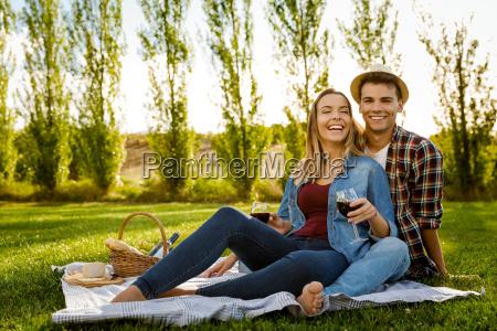 nur wir und ein picknick