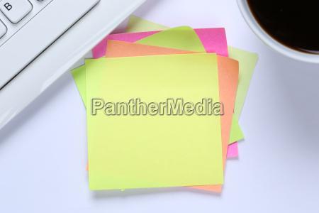 empty notes notes sticky copy space