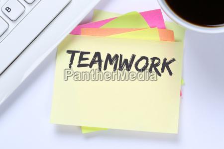 teamwork working together business success work