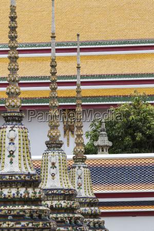 schoener wat pho tempel in bangkok