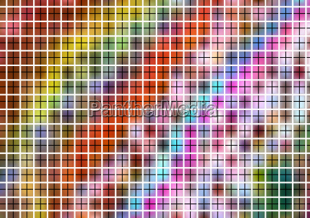 colorful pattern with grid