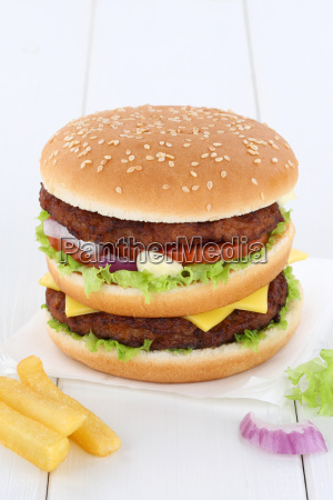 doubleburger double burger hamburger text free