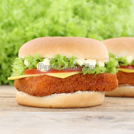 fish burger fish burger fried fish