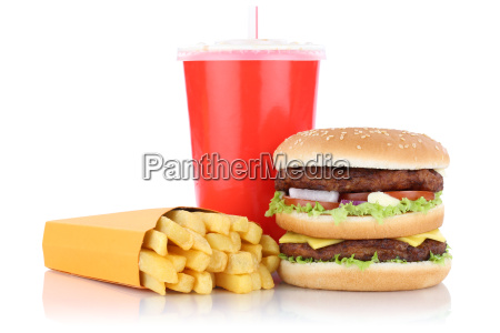 doubleburger double burger hamburger menue mit
