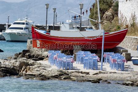 seaside dining beach bar restaurant in