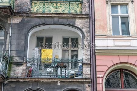 facade of a old house