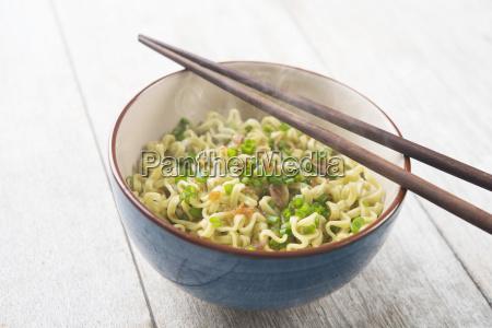 asian dried ramen noodles