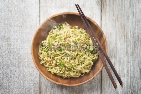 delicious asian japanese dried ramen noodles