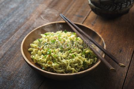 delicious dried ramen noodles