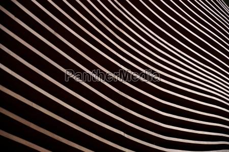 moderne architektur detail der fassade eine