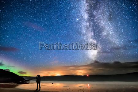 sternenhimmel am strand