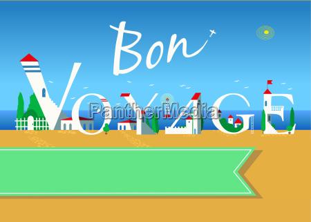 bon voyage travel card