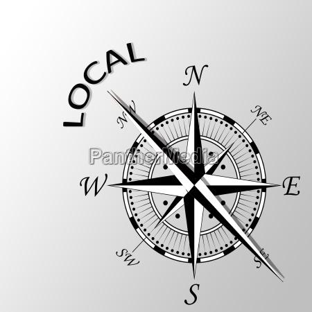 illustration gemeinschaft lokal einheimische gemeinsamkeit heimisch