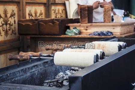 kochen baumstriezel oder kurtos kalacs die