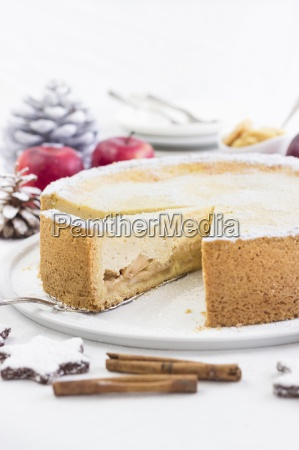 juicy apple cake for christmas