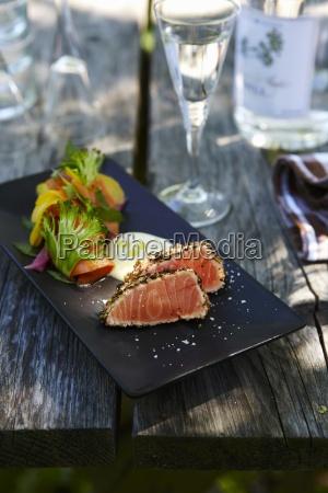 essen nahrungsmittel lebensmittel nahrung fisch outdoor