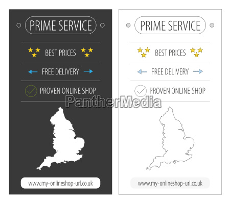 england top service ecommerce bannerillustration in