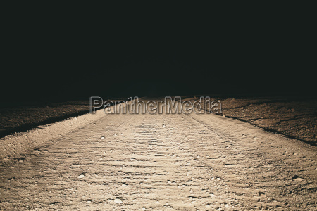 fahrt reisen wueste oednis nationalpark nacht