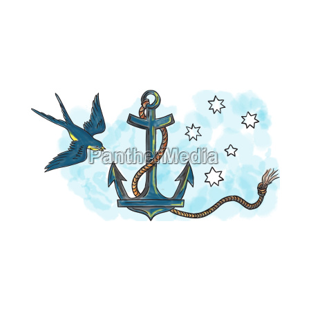 anker schwalbe southern star tattoo