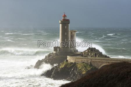 phare petit minou lighthouse during a