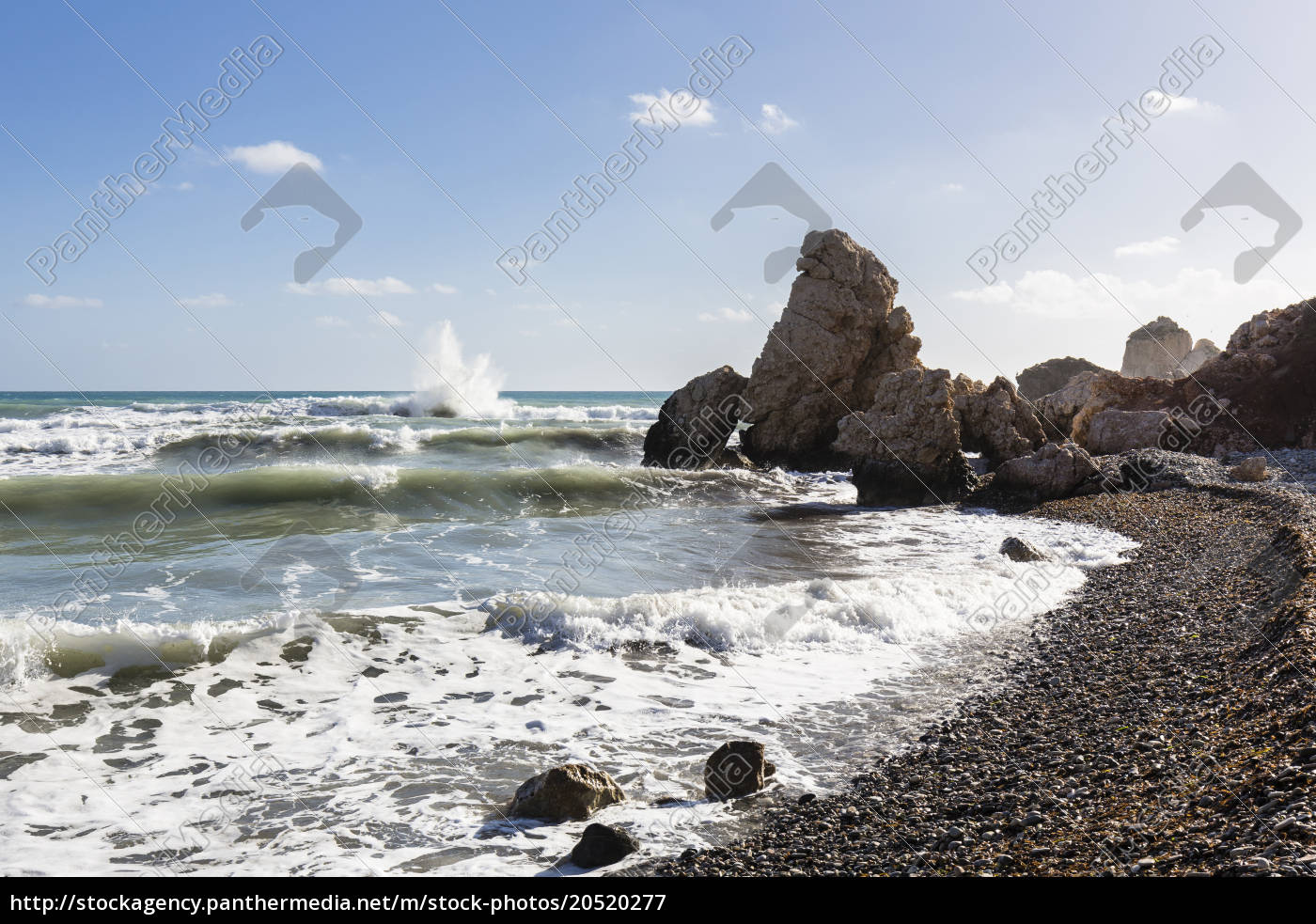 surf, on, shore, at, petra, tou - 20520277