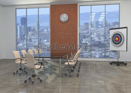 buero konferenzraum buerostuhl fenster luke glasfenster