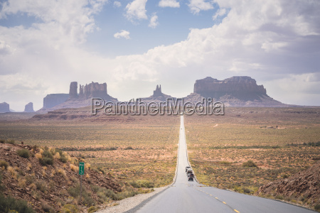usa utah road to monument valley