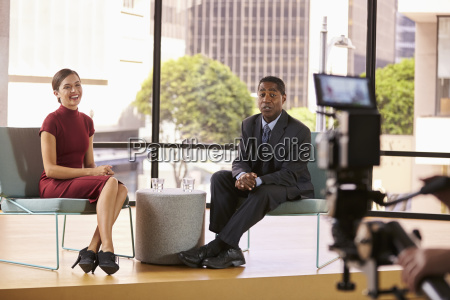 black man and white woman on
